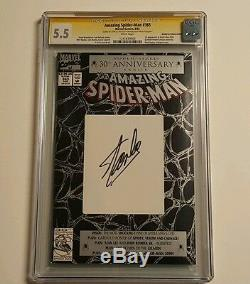 Amazing Spider-man (1963 1ère Série) # 365 Cgc Art 5.5 Par Stan Lee L'homme Lui-même