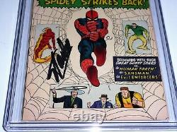 Amazing Spider-man #19 Cgc Ss Signature Autographe Stan Lee Torche Humaine Asm
