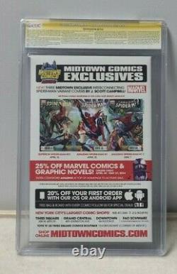 Amazing Spider-man 1.1 Cgc 9.4 Ss Signé Par Stan Lee Et J Scott Campbell
