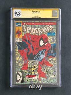 Amazing Spider-man #1 Cgc 9.8 Ss Signé Stan Lee Green Variante Mcfarlane 300