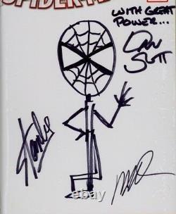 Amazing Spider-man #1 Cgc Ss 9.8 Stan Lee Sketch With Great Power Par Dan Slott