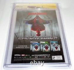Amazing Spider-man #1 Cgc Ss Signature Autograph Stan Lee Ross Variante 1300 Cvr
