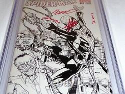 Amazing Spider-man #1 Cgc Ss Signature Autographe Stan Lee Ramos 1st D Variante
