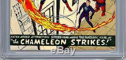 Amazing Spider-man # 1 Cgc-ss 7.5 Signé Stan Lee Asm Créateur Premiere Edition 1963