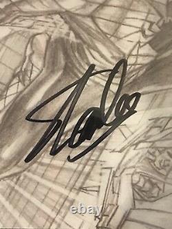 Amazing Spider-man #1 Ross Sketch Variante Cgc 9.8 Signé Par Stan Lee Le 11/4/18