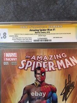 Amazing Spider-man #1 Signé Par Stan Lee 9,8 Cgc