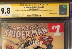 Amazing Spider-man # 1 Une 3ème Série Cgc Ss 9.8 Signé Stan Lee, Ramos Campbell