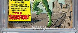 Amazing Spider-man #20 Cgc 0.5 Origine Et 1er Scorpion Stan Lee Steve Ditko 1965