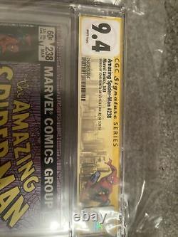 Amazing Spider-man #238 Cgc 9.4 2x Ss Stan Lee John Romita Spidey Label
