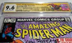 Amazing Spider-man # 238 Cgc Ss Signature Autograph Stan Lee Double Couverture 9.6 Prisonniers De Guerre