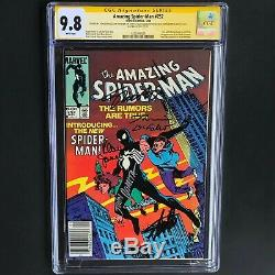 Amazing Spider-man # 252 5x Signé Cgc 9.8 Ss Stan Lee Romita Janson & More