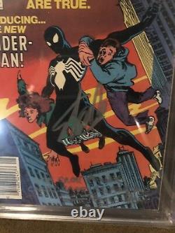 Amazing Spider-man #252 Cgc 9.8 Ss Stan Lee Roger Stern First Black Suit Venin