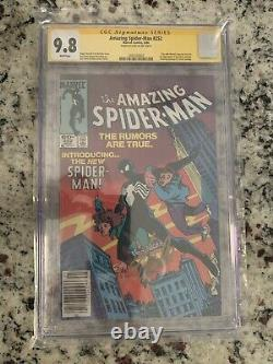 Amazing Spider-man #252 Newstand Cgc 9.8 Ss Signed Stan Lee