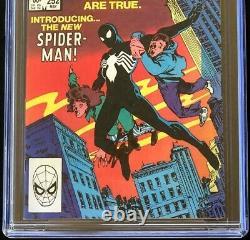 Amazing Spider-man #252 Signé Par Stan Lee Cgc 9.8 Ss 1st Black Suit Venom