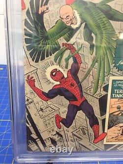 Amazing Spider-man # 2 Cgc 6.0 Owithw Pages Stan Lee Histoire / Ditko 1er Vulture 3rdspi