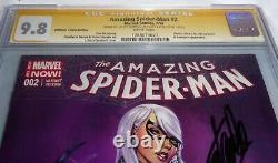 Amazing Spider-man #2 Cgc Ss Signature Autographe Stan Lee Midtown Variante 9.8