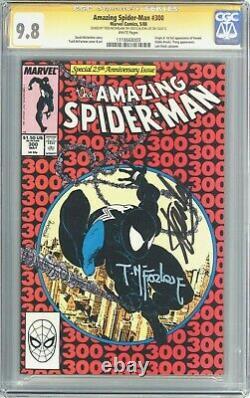 Amazing Spider-man #300 (1988) Cgc Ss 9.8 Signé Par Stan Lee & Mcfarlane