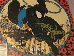 Amazing Spider-man # 300 Cgc 6.0 Ss Signé Par Stan Lee Et Todd Mcfarlane 1er Venom
