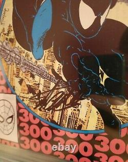 Amazing Spider-man 300 Cgc 9.4 Ss Signé Stan Lee 1er Venom Todd Mcfarland Couverture