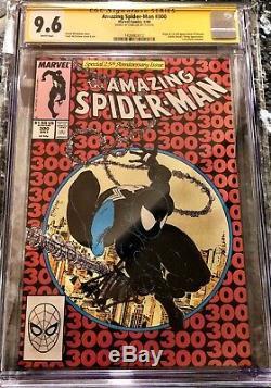 Amazing Spider-man 300 Cgc 9.6 Série Signature Ss Stan Lee 1er Venom Haut De Gamme