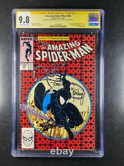 Amazing Spider-man 300 Cgc 9.8 Signé Stan Lee & Todd Mcfarlane 1er Venom