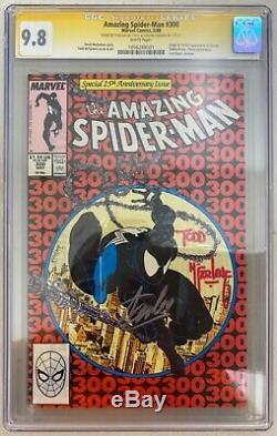 Amazing Spider-man # 300 Cgc 9.8 Ss Signe Stan Lee Todd Mcfarlane 1er Venom
