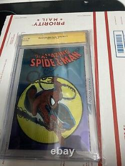 Amazing Spider-man 300 Chrome 1998 Cgc 9.8 Ss Stan Lee Todd Mcfarlane