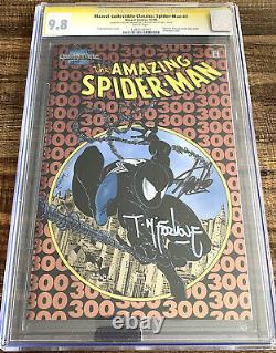 Amazing Spider-man 300 Chromium Variante 1998 Cgc 9.8 Ss Stan Lee Todd Mcfarlane