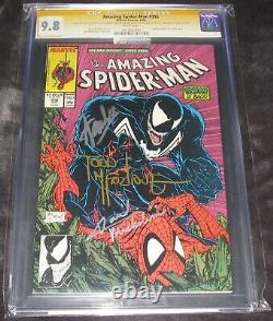 Amazing Spider-man #316 Cgc 9.8 Ss Stan Lee, Todd Mcfarlane Et David Michelinie