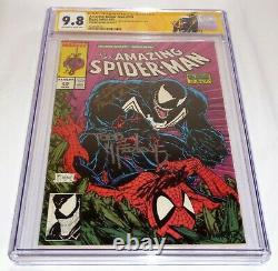 Amazing Spider-man #316 Cgc Ss Signature Autograph Stan Lee Todd Mcfarlane 9,8