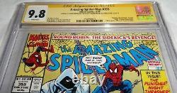 Amazing Spider-man #355 Cgc Ss Signature 9.8 Stan Lee Moon Knight Punisher Nova