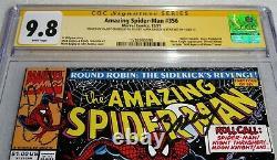 Amazing Spider-man #356 Cgc Ss Signature Autographe Bagley Stan Lee Moon Knight