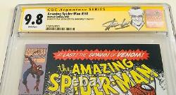Amazing Spider-man #361 Cgc 9.8 Signé Par Stan Lee & Mark Bagley Kiosque À Journaux