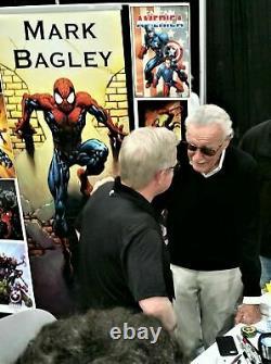 Amazing Spider-man #362 Cgc 9.8 Ss Signé Par Stan Lee Venom Carnage Newsstand