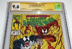 Amazing Spider-man #362 Cgc Ss Signature Autograph Stan Lee Mark Bagley Venin
