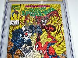 Amazing Spider-man #362 Cgc Ss Signature Autograph Stan Lee Sketch Bagley Art