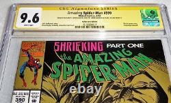 Amazing Spider-man #390 Collectors 3x Cgc Ss Signature Autograph Stan Lee Bagley