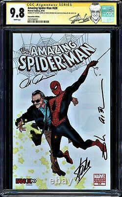 Amazing Spider-man # 638 Cgc 9.8 Lee Stan De Ss 3x Hot Cgc # 1025708057