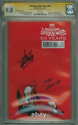 Amazing Spider-man #692 Série Signature Cgc 9.8 Des Années 1970 Signée Stan Lee Romita Sr