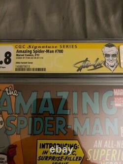 Amazing Spider-man 700 Ditko Cgc Ss 9.8 Signé Par Stan Lee