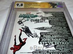 Amazing Spider-man # 700 Signé 11x Stan Lee Romita Mcfarlane Peter Parker Mort