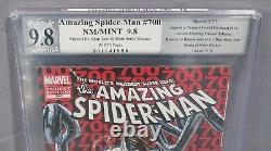 Amazing Spider-man #700 Variante Stan Lee & Ramos Signé Pgx 9.8 Marvel 2013 Cgc