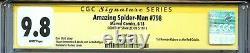 Amazing Spider-man 798 Cgc 9.8 Ss Ramos Couvre Stan Lee 1st Red Goblin Anti-venom