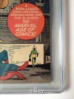 Amazing Spider-man # 9 Cgc 8.5 1er Electro Stan Lee & Steve Ditko Key L @@ K