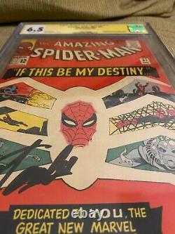 Amazing Spiderman #31 Cgc 6.5 Signé Par Stan Lee