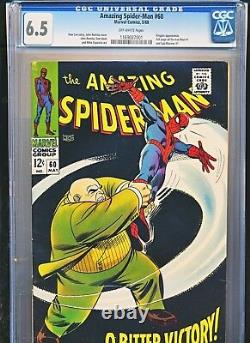 Amazing Spiderman 60 Cgc 6.5 Stan Lee Story Spider-man