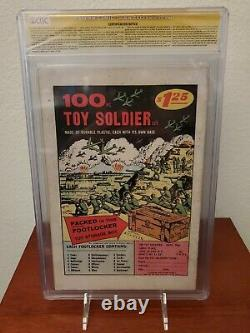 Amazing Spiderman Annuel #1 Cgc 4.5 Signé Stan Lee 1ère Apparition Sinister Six