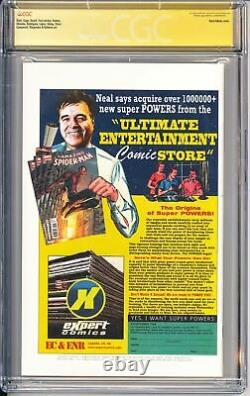 Amezing Spider-man #1 Cgc 9,8 Ss Signé Par Stan Lee & Neal Adams Variant Marvel