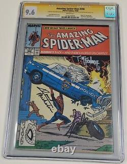 Amezing Spider-man 306 Cgc 9.6 Blanc Signé Stan Lee & Todd Mcfarlane Marvel Key