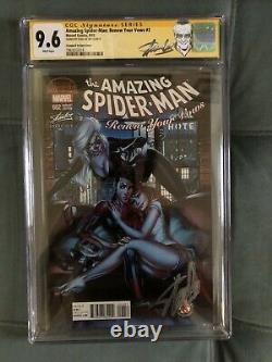 Asm Renew Your Vows 2 -j Scott Campbell Variante- Cgc Ss 9.6 Stan Lee Signé